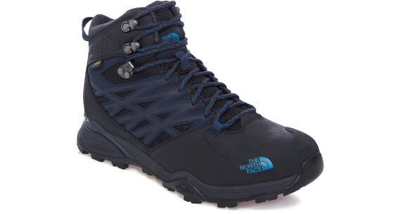 The North Face Hedgehog Hike Mid GTX Shoes Men phantom grey/boulder blue
